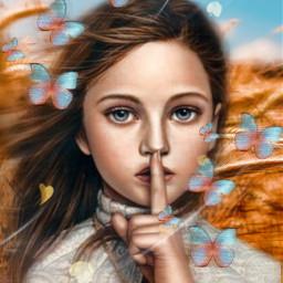quiet hush secret freetoedit unsplash