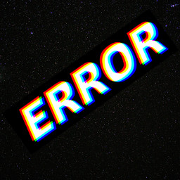 error idk galaxy black white yea freetoedit
