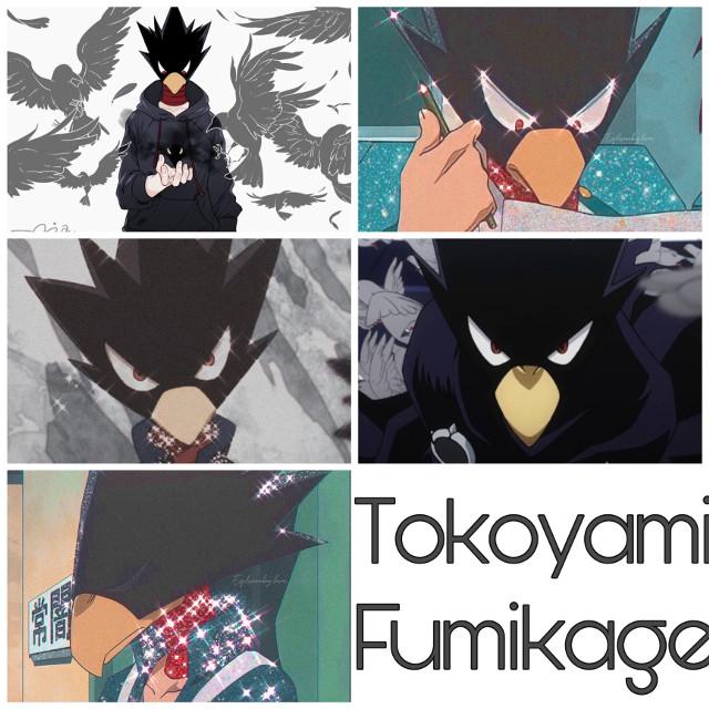 #anime #bnha #bokunoheroacademia #mha #myheroacademia #tokoyami #fumikage #tokoyamifumikage #fumikagetokoyami