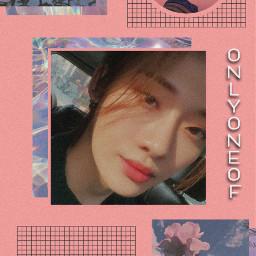 onlyoneof ooo yoojung yoojungonlyoneof taeyeob pink vibey libido angel freetoedit