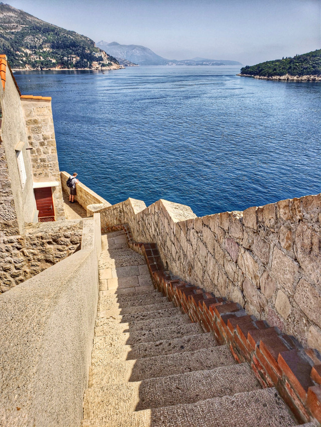 #photography #travel #architecture #stairs #landscape #nature #water
