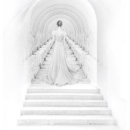 mirpar02 woman instagram hallway tunnel notfreetoedit
