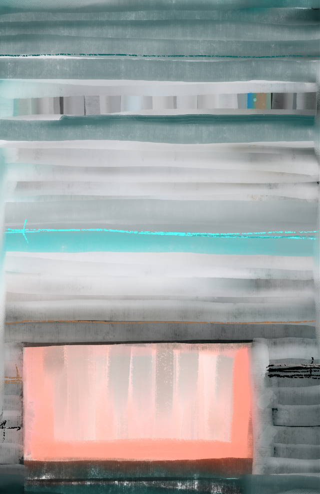 """Winter on the Coast"" #sonnythesaint #sonnyleel #abstractart #tribute #rothko #abstractexpressionism"