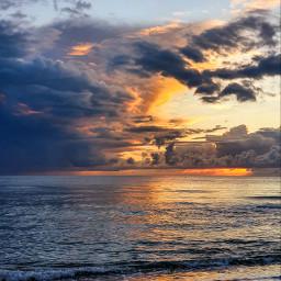 sea photography sky nature water beach sand summer sunset beautiful waves sunnyclouds freetoedit