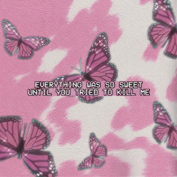 pink pinkaesthetic quote aesthetic barbie cow cowprint strawberrycow glitter butterflies pinkbutterflies ethereal butterfly y2k 90s 200s retro pretty cute words text captions sweet dojacat wallpaper freetoedit