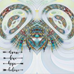 love dreamcatcher fractal freetoedit