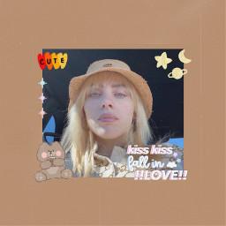 billieeilish billieilishblonde kawaii yellow aesthetic tumblr music badguy freetoedit