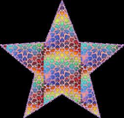 sfghandmade sticker stickers star starsticker multicolors heartsandflowers picsarteffects freetoedit