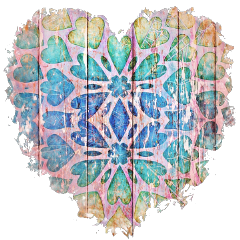 sfghandmade sticker stickers heart heartsticker pinkheart hearts pinkbackground picsarteffects freetoedit