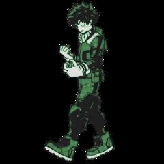 mha bnha myheroacademia bokunoheroacademia myhero bokunohero izuku midoriya izukumidoriya anime deku weeb manga hero green freetoedit