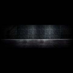 floor room bw window wall dark black background grid freetoedit