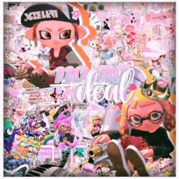 splatoon splatoon2 inkling octoling inklinggirl octolinggirl girl complex rainbow aesthetic pink lgbtqpride freetoedit