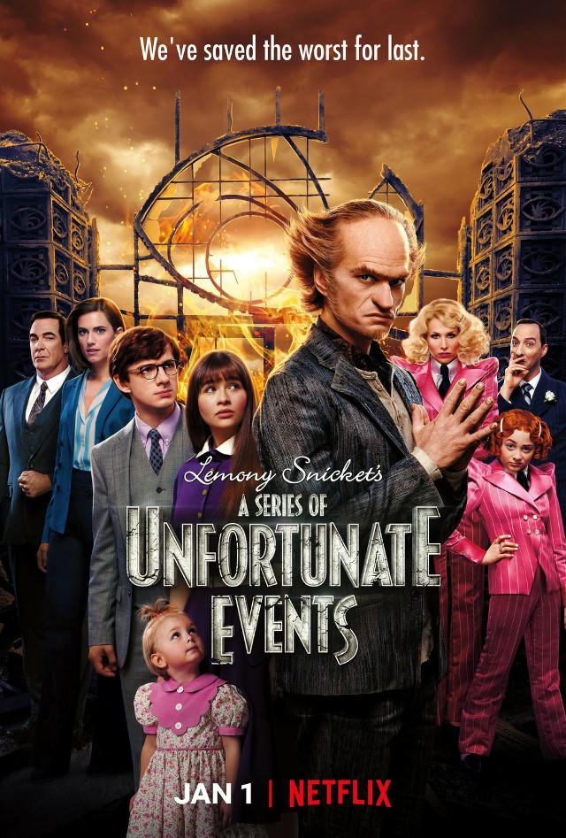 #A series of unfortunate events/ Netflix series