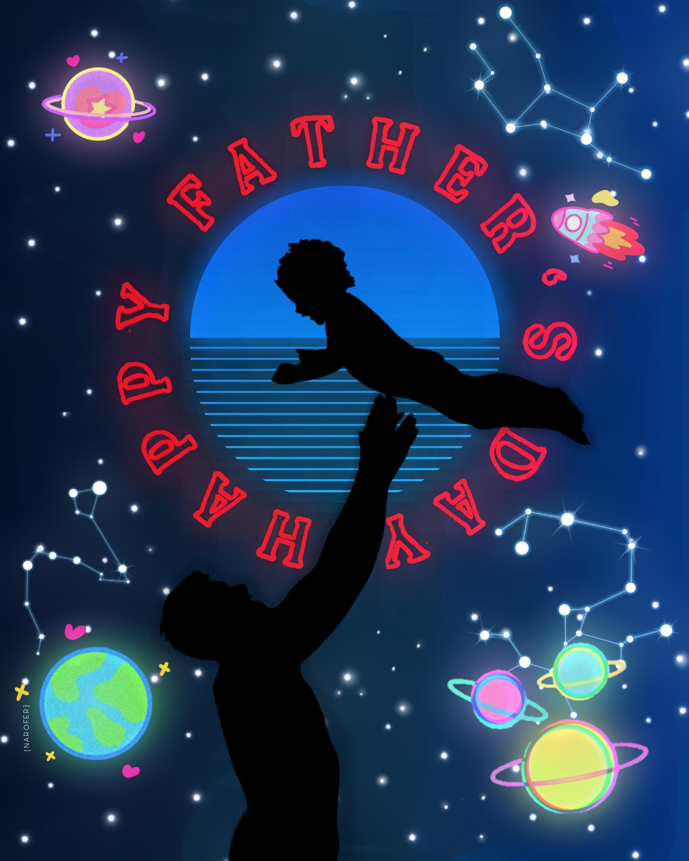 Pa'PapáPapiPapitoPapasitoPapaítoPapuchoFeliz día 🎇💙💦🚀🎆🏆🥇#fathersday #HappyFather'sDay#Dad#father#Daddy#madewithpicsart #myedit #Neon#sticke