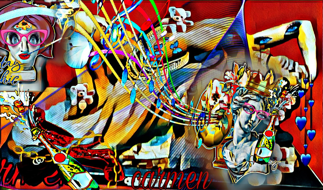#myedit #fantasy #modern art#remixmygallery #magiceffect  ⛔no remix  ⛔no screenshot  Thanks