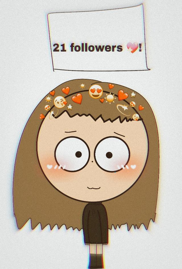 21 followers 💖😊!! #followers