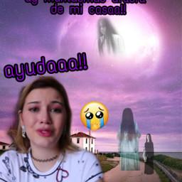 lulu99 fantasmas asustada freetoedit