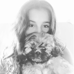 freetoedit puppy blackandwhite