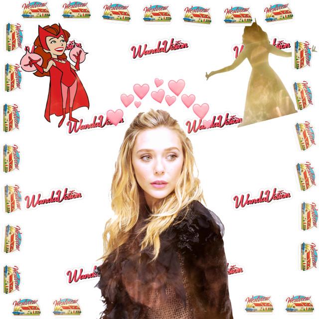WandaVision ~ One of my fav shows!! ❤️🔥🤪 #wandamaximoff #wandavision #elizabetholsen #stillneedsuggestions