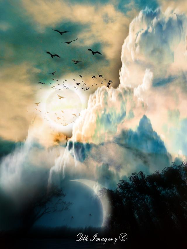 Sky Diving #art #photography #skyphotography #cloudsandsky #horizon #cloudscapes #artist #danalakat