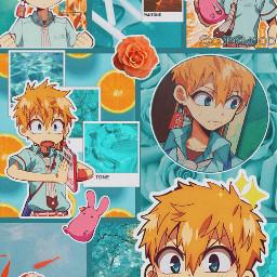 tbhk koutbhk kouminamoto kou kouwallpaper toiletboundhanakokun wallpaper animewallpaper wallpaperkou anime edit interesting orange teal kourtneykardashian freetoedit