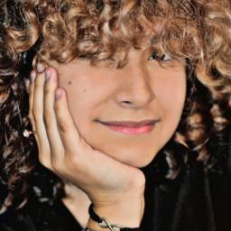 dayana marley model face cute curlyhair freetoedit