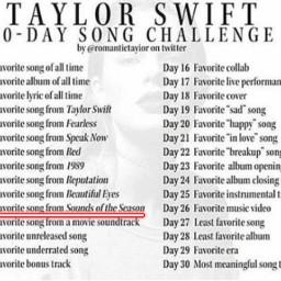 taylorswift taylorswift13 tayloralisonswift taytay taylor songchallenge 30daysongchallenge songs freetoedit