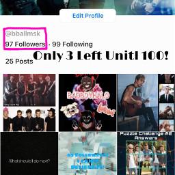 followergoal 100followers