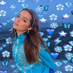 addisonrae addi blue blueaesthetic vintage addisonraeedit mountain addisonraeditsdaily addisonraeblue addisonraeeyeliner addison snowflake blueaesthetictheme freetoedit