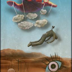 surreal surrealisticworld surrealism imagination madewithpicsart border mask fantasy freetoedit