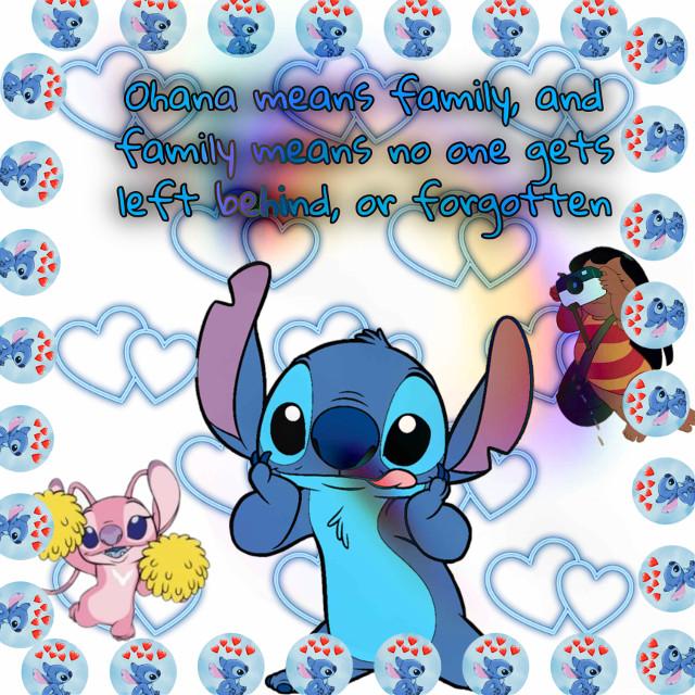 OHANA!!!!💙🌀🌐 #stitch #liloandstitch #lilo #aborable