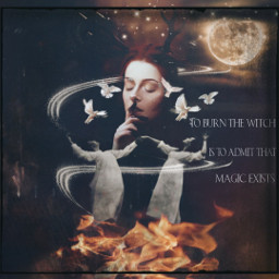 witch magic dancinginthemoonlight fire freetoedit unsplash
