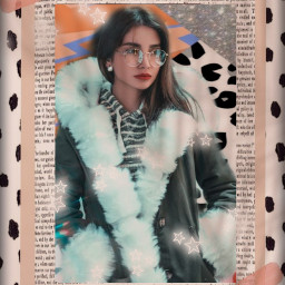 vintage fur portrait frame coatfur freetoedit rctrendyvibes trendyvibes