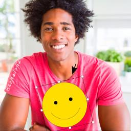 super positive hello smile people emoji freetoedit