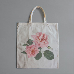 bag flower rose pinkrose roseeasthetic easthetic freetoedit ircdesignthetotebag designthetotebag