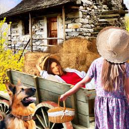countryside countrylife heypicsarts ircthebeautyinhaze thebeautyinhaze freetoedit
