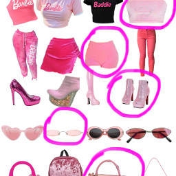 outfit barbie freetoedit