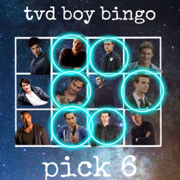 vampirediaries boys bingo freetoedit