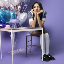 freetoedit oliviarodrigo purplevibes purple purpleaesthetic balloons colorfulballoons cute cutegirl school schoolvibes party grumpy souralbum sour teacup livrodrigo olivia rodrigo brunette favoritethree