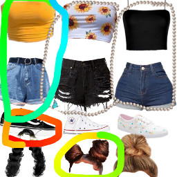 cute outfit youchose summer freetoedit