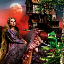 rapunzel princess freetoedit ircstepbystep stepbystep