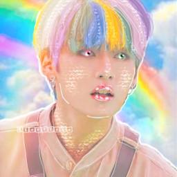 jeenusupremacy aesthetic softtaro leeknow rainbow skz minho straykids