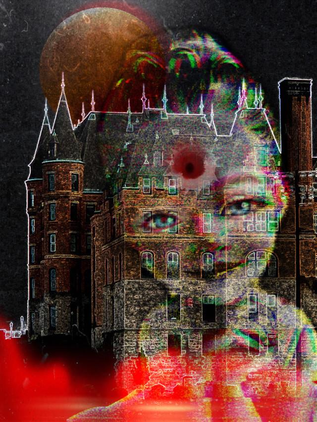 #home #imneverleaving #littlegirl #freetoedit #ghostgirl #bullethole #thisismyhome