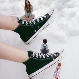girls boy children shoes nature clouds people climbinggirl play childrenplaying summer freetoedit ircstepbystep stepbystep