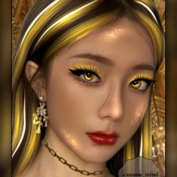 ulzzang ulzzangedit ulzzangmanip manip manipulation kpop kpopmanip kpopmanipulation gold yellow shiny