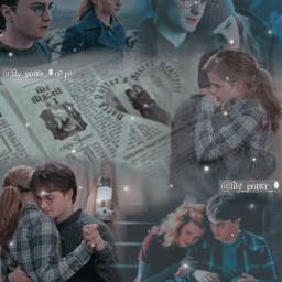 harrypotter hermionegranger hogwarts deathlyhallows gryffindor blendedit freetoedit
