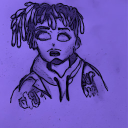 freetoedit sketch juicewrld