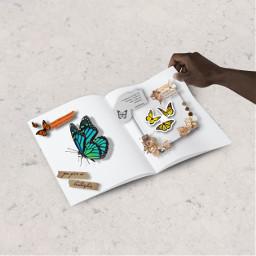mariposas freetoedit ircblanknotebook blanknotebook