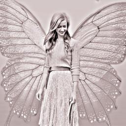 butterfly picsartchallenge fairy butterflywings original ecbutterflywings freetoedit