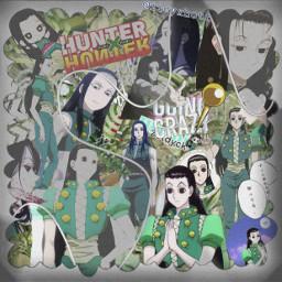 hxh hunterxhunter illumi illumizoldyck animeboy anime illumiedit hxhedit animeedit